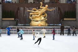 The Rink at Rockefeller Center  Photos