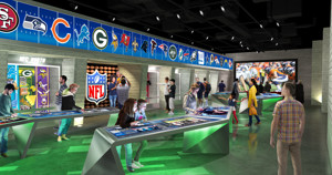 NFL Experience Times Square Photos