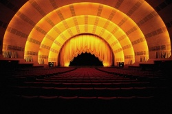 Radio City Music Hall Stage Door Tour Photos