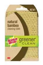 Scotch-Brite natural bamboo cleaning cloth