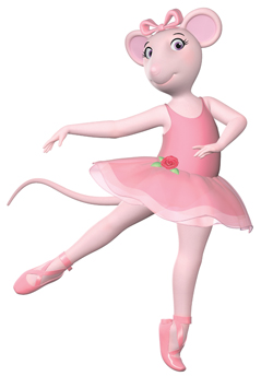 Angelina Ballerina in CGI animation