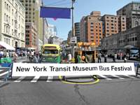 New York Transit Museum Bus Festival