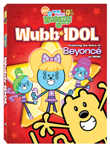 Wow Wow Wubbzy in Wubb Idol