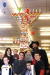 World's Largest LEGO Menorah