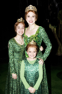 "Shrek on Broadway, Nick.com ""Not Your Ordinary Princess"" winners"
