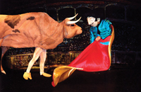 Ferdinand the Bull at Queens Theatre in the Park