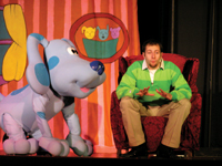 Blue's Clues Live on stage