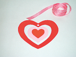 Valentine's Day arts and crafts, card-making