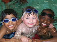 free swimming lessons at the YMCA in White Plains