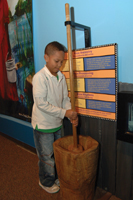 Tales from the Land of Gullah exhibit at Brooklyn Children's Museum
