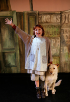 Annie is playing at the Shubert Theater in New Haven