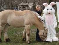 Kids celebrate Easter with the 4th Annual Easter Egg-Stravaganza at Pal-O-Mine Equestrian.