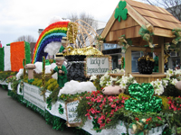15th Annual Patchogue St. Patrick's Day Parade; floats