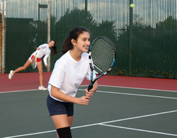 single sex camps; girls only camps; tennis camps