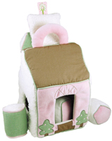 Pink Little House Shape Sorter