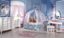 Furniture Not Just for Kids; kids furniture; children's furniture; princess bed; girls bedroom furniture
