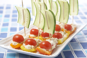 tuna boats; passover recipe; appetizer; children; healthy recipes for kids