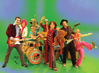 Dirty Sock Funtime Band; children's band; kids music