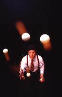 Will Shaw, juggler; juggling show
