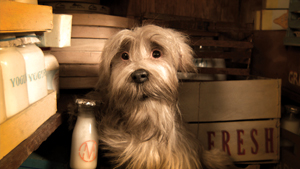 Higglety Pigglety Pop!; Spike Jonze short film; Jennie the Sealyham Terrier; There Must Be More to Life film