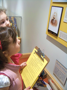 museum; Fairfield County, CT; museum activities; kids at the museum; classes for kids