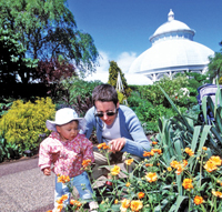 New York Botanical Garden; earth day activities for kids and families