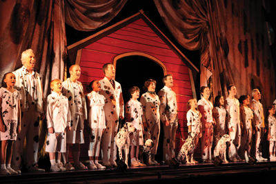 The 101 Dalmatians Musical; NYC; theater at madison square garden