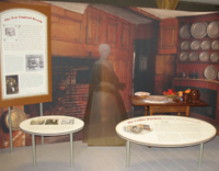 Families explore how American kitchens have changed throughout the last 200 years with a new exhibit at the Long Island Museum in Stony Brook.