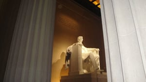 Lincoln Memorial; Washington, DC; national monument; landmark