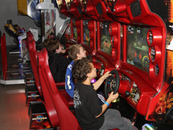 LIFE the Place to Be; kids birthday parties; kids playing video games; arcade; Westchester County, NY