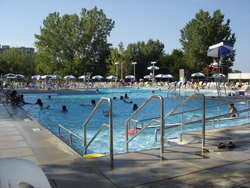 Bay Terrace Country Club; outdoor pool; inground pool