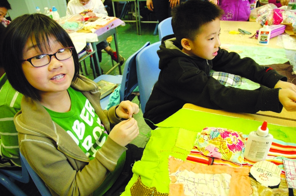 Students take part in Guggenheim's Learning Through Art program
