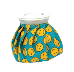 Gal Pal retro ice bag, smiley faces pattern