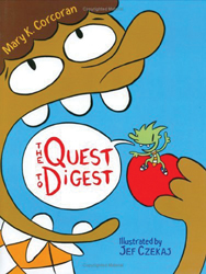 The Quest to Digest by Mary K. Corcoran; book cover