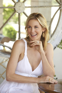 Kelly Rutherford; Gossuip Girl's Lily van der Woodsen; NYC celebrity parent