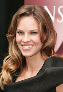 Actress Hilary Swank