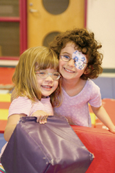 Lighthouse International Child Development Center; children with visual impairments