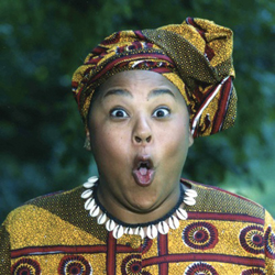 Queen Nur, storyteller; Sweet Potato Pie & Such; children's performer