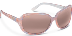 Maui Jim's Rainbow Falls sunglasses, Abalone and White in Maui Rose lenses