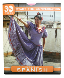 30 Words Language Guide: European Spanish