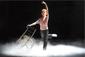 Billy Elliot; Michael Dameski as Billy in Billy Elliot; Billy Elliot on Broadway