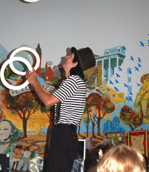 juggler; children's entertainer