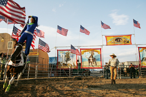 The Great American Frontier Show will perform at the 2010 Nassau Coliseum Fair.