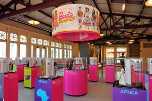 Barbie Collector's Dolls of the World exhibit on Ellis Island