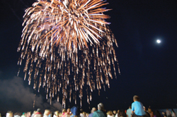 fireworks; long beach; long island; july 4; independence day; fourth of july