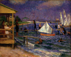 The Sea Around Us; Nassau County Museum of Art exhibit; William Glackens