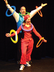 Solo Circus; National Circus Project performers