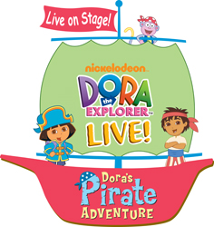 Dora the Explorer live on stage; Nickelodeon's Dora the Explorer Live!