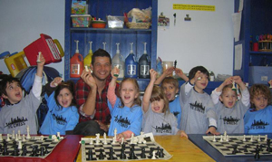New York City Chess Inc.; kids playing chess, children