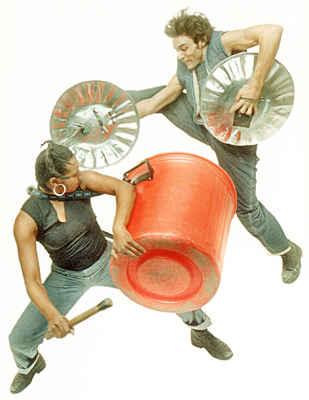 Stomp, off-broadway show